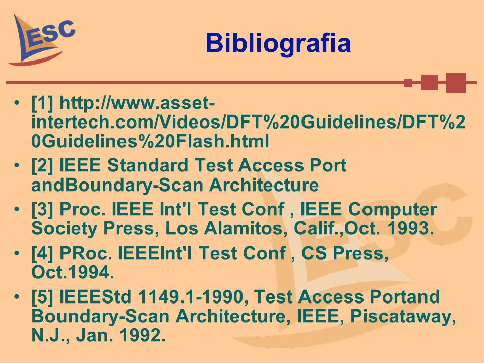 Bibliografia [1] http://www.asset- intertech.com/Videos/DFT%20Guidelines/DFT%2 0Guidelines%20Flash.html.
